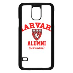Harvard Alumni Just Kidding Samsung Galaxy S5 Case (black)