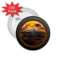 World Of Tanks Wot 2 25  Buttons (100 Pack)