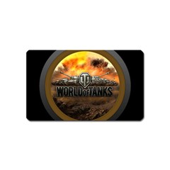 World Of Tanks Wot Magnet (name Card)