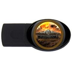 World Of Tanks Wot Usb Flash Drive Oval (2 Gb)