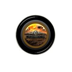 World Of Tanks Wot Hat Clip Ball Marker (4 Pack)