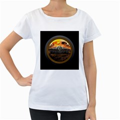 World Of Tanks Wot Women s Loose Fit T Shirt (white)