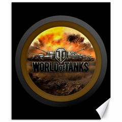 World Of Tanks Wot Canvas 8  X 10