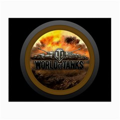 World Of Tanks Wot Small Glasses Cloth (2 Side)