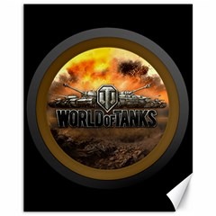 World Of Tanks Wot Canvas 11  X 14