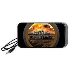 World Of Tanks Wot Portable Speaker (black)