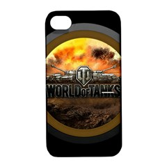 World Of Tanks Wot Apple Iphone 4/4s Hardshell Case With Stand