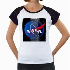 Nasa Logo Women s Cap Sleeve T