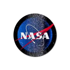 Nasa Logo Rubber Coaster (round)