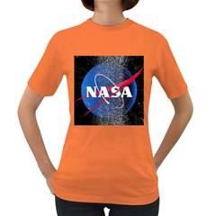 Nasa Logo Women s Dark T Shirt