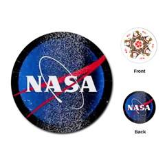 Nasa Logo Playing Cards (round)