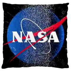Nasa Logo Large Cushion Case (two Sides)