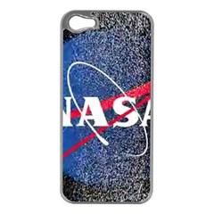 Nasa Logo Apple Iphone 5 Case (silver)