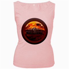 World Of Tanks Wot Women s Pink Tank Top