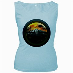 World Of Tanks Wot Women s Baby Blue Tank Top