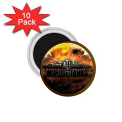 World Of Tanks Wot 1 75  Magnets (10 Pack)
