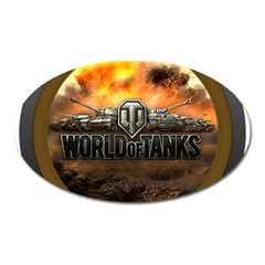 World Of Tanks Wot Oval Magnet