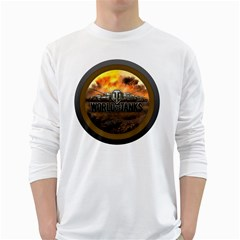 World Of Tanks Wot White Long Sleeve T Shirts