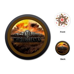 World Of Tanks Wot Playing Cards (round)