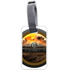 World Of Tanks Wot Luggage Tags (one Side)