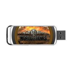 World Of Tanks Wot Portable Usb Flash (two Sides)