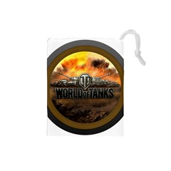 World Of Tanks Wot Drawstring Pouches (small)
