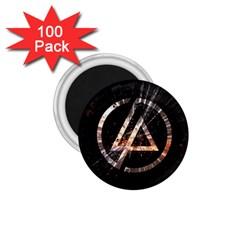 Linkin Park Logo Band Rock 1 75  Magnets (100 Pack)
