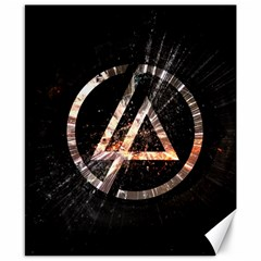 Linkin Park Logo Band Rock Canvas 8  X 10