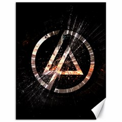 Linkin Park Logo Band Rock Canvas 18  X 24
