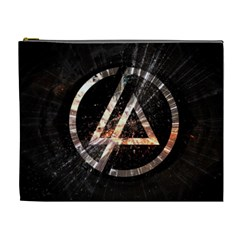 Linkin Park Logo Band Rock Cosmetic Bag (xl)