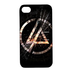 Linkin Park Logo Band Rock Apple Iphone 4/4s Hardshell Case With Stand
