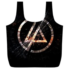 Linkin Park Logo Band Rock Full Print Recycle Bags (l)