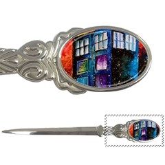 Dr Who Tardis Painting Letter Openers