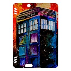 Dr Who Tardis Painting Kindle Fire Hdx Hardshell Case