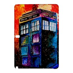 Dr Who Tardis Painting Samsung Galaxy Tab Pro 12 2 Hardshell Case