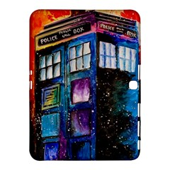Dr Who Tardis Painting Samsung Galaxy Tab 4 (10 1 ) Hardshell Case