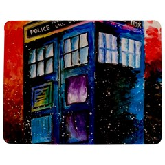 Dr Who Tardis Painting Jigsaw Puzzle Photo Stand (rectangular)
