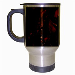 Dragon Legend Art Fire Digital Fantasy Travel Mug (silver Gray)