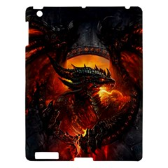 Dragon Legend Art Fire Digital Fantasy Apple Ipad 3/4 Hardshell Case