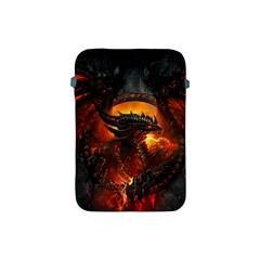 Dragon Legend Art Fire Digital Fantasy Apple Ipad Mini Protective Soft Cases