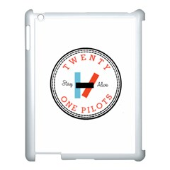 Twenty One Pilots Apple Ipad 3/4 Case (white)