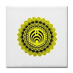 Bassnectar Sunflower Tile Coasters