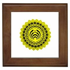 Bassnectar Sunflower Framed Tiles
