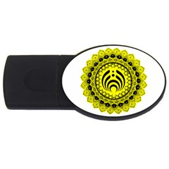 Bassnectar Sunflower Usb Flash Drive Oval (2 Gb)