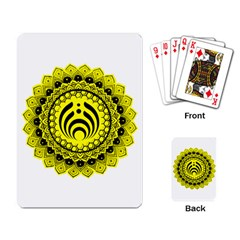Bassnectar Sunflower Playing Card