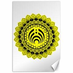 Bassnectar Sunflower Canvas 20  X 30