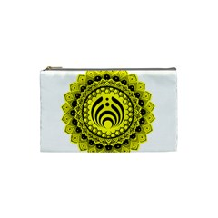 Bassnectar Sunflower Cosmetic Bag (small)
