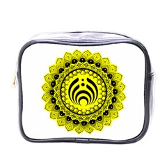 Bassnectar Sunflower Mini Toiletries Bags