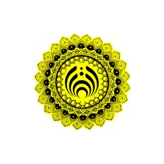 Bassnectar Sunflower Shower Curtain 48  X 72  (small)