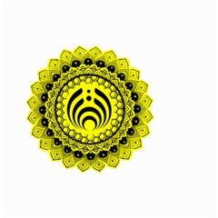 Bassnectar Sunflower Small Garden Flag (two Sides)